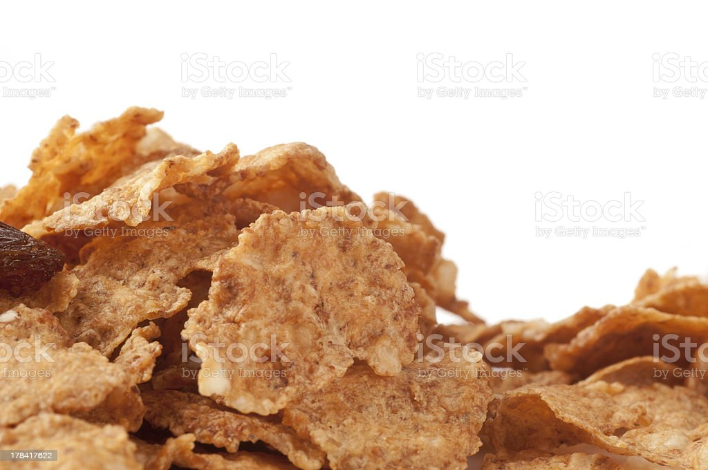cereal isolated stock photo