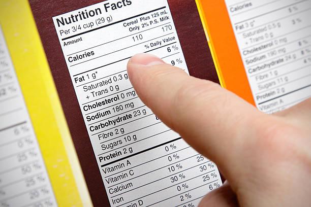 cereal nutrition - ingrediënt stockfoto's en -beelden