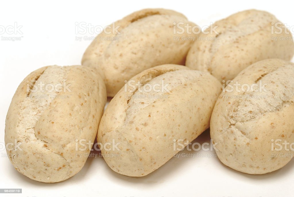 Cereali rolls foto stock royalty-free