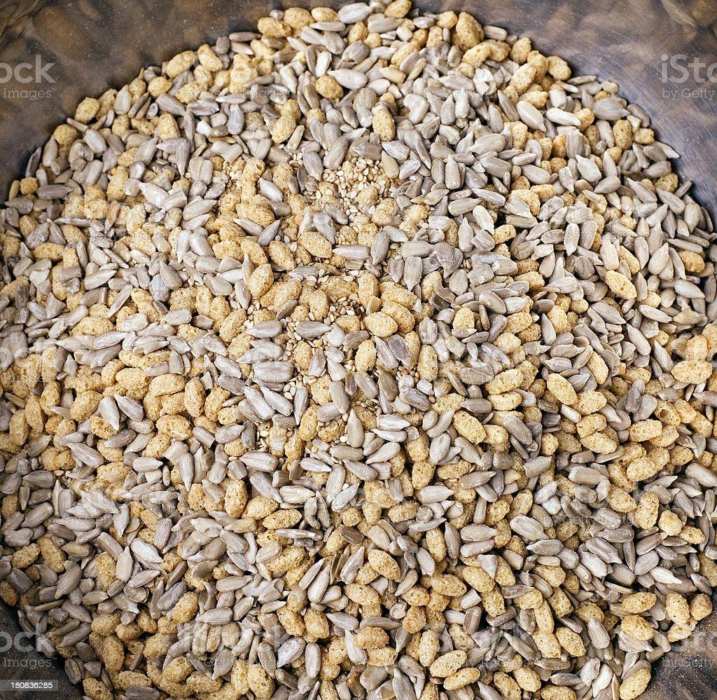 cereals background stock photo
