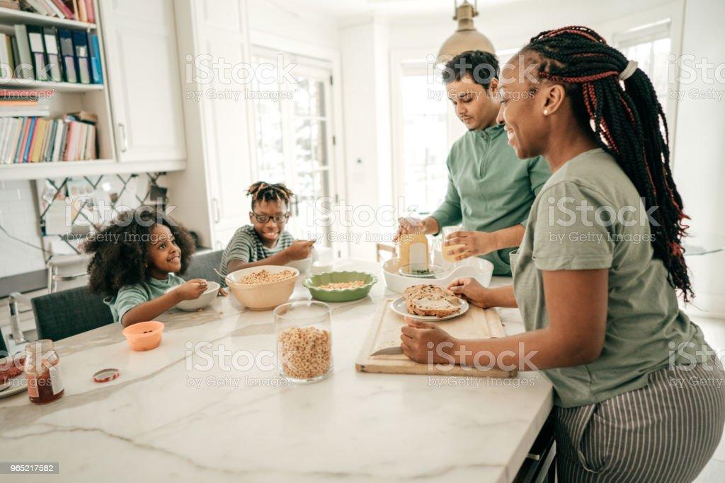 Cereals for breakfast zbiór zdjęć royalty-free