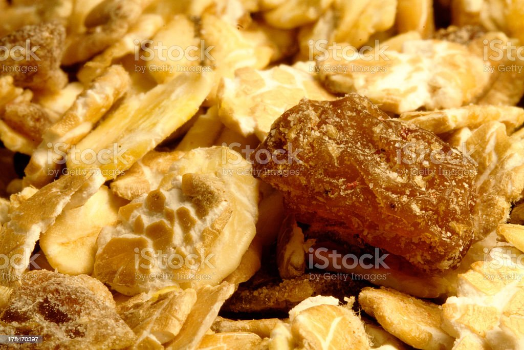 Cereals (Close up) stock photo