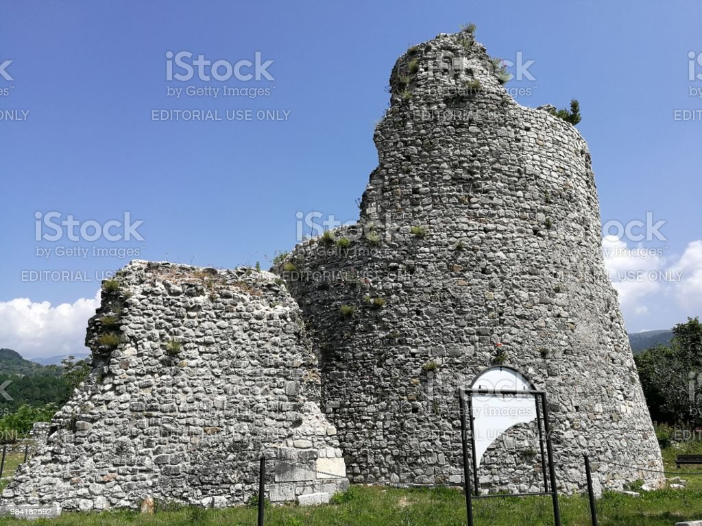 Cerreto Sannita - Archaeological area - foto stock