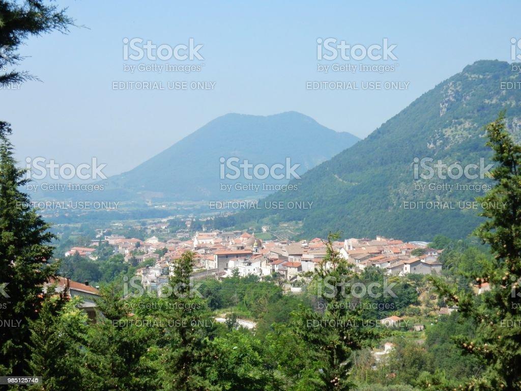 Cerreto Sannita - Panorama - foto stock
