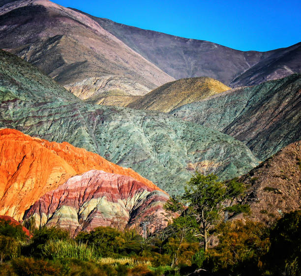 Cerro de los Siete Colores Salta/Jujuy Argentina Argentina stock pictures, royalty-free photos & images