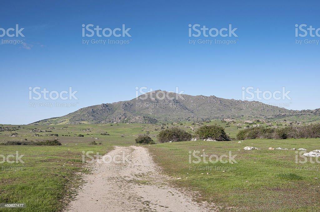 Cerro de San Pedro royalty-free stock photo