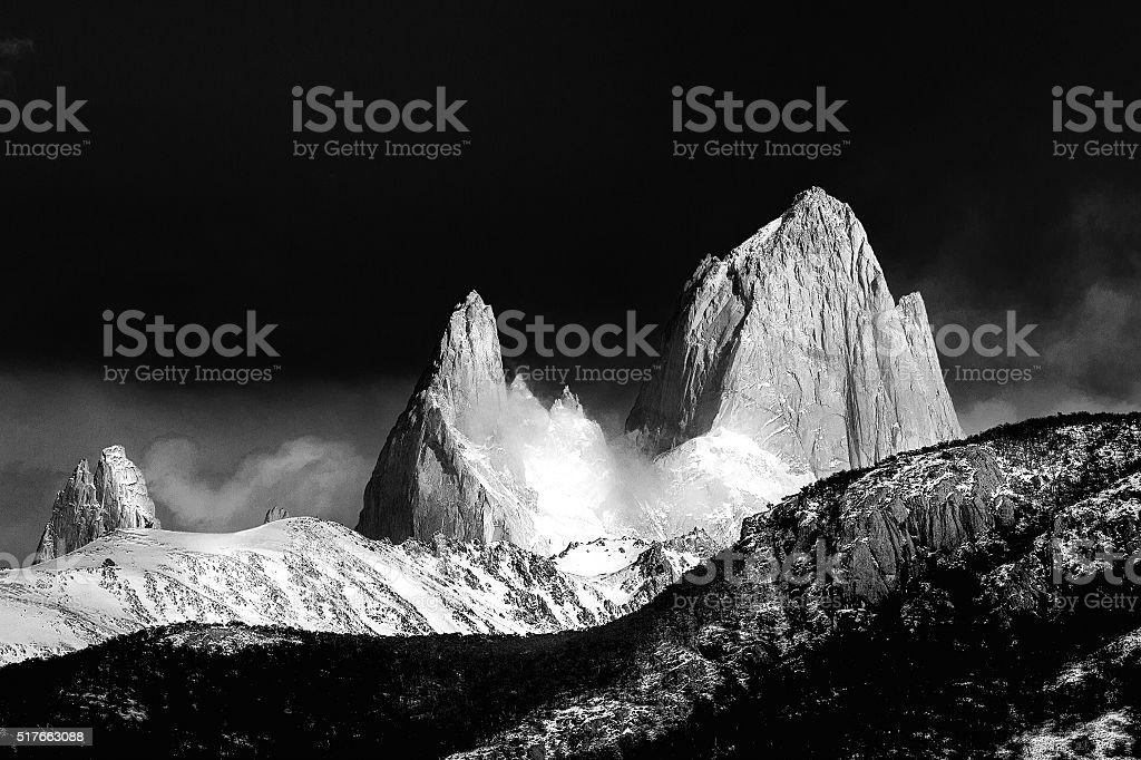 Cerro Torre, Chalten, Santa Cruz Province, Argentina stock photo