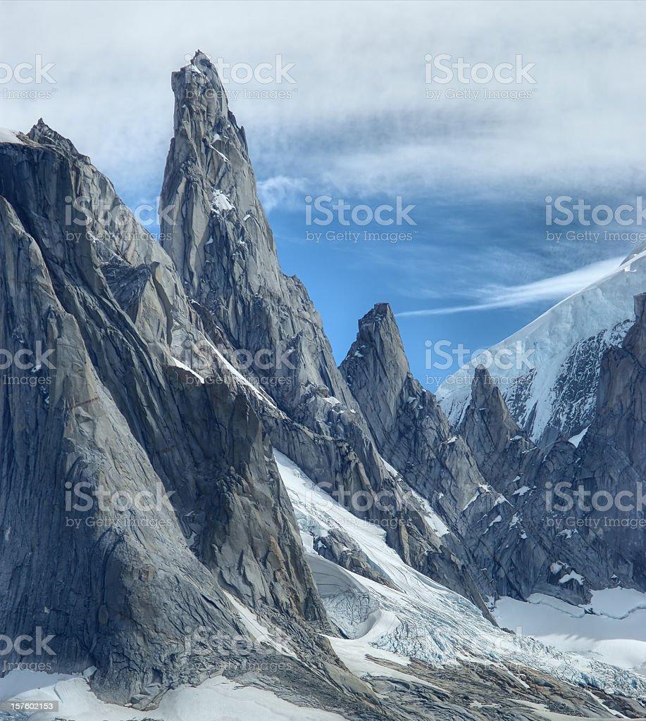 Cerro Torre royalty-free stock photo