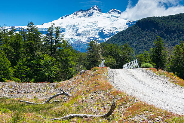 Cerro Tronador, Nahuel Huapi national park (Argentina) stock photo