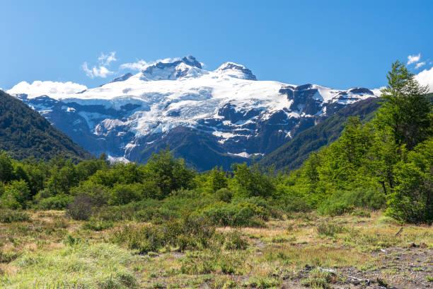Cerro Tronador volcano, Nahuel Huapi national park, Argentina stock photo