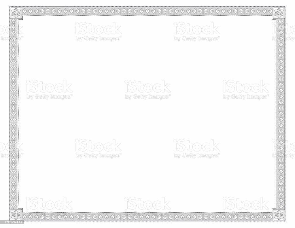 Certificato Diamond tema - foto stock