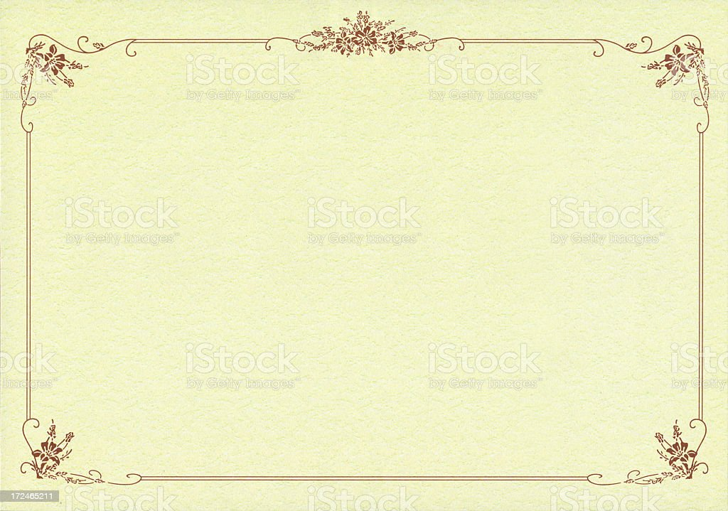 background for certificate