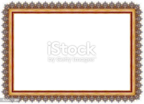 istock Certificate Frame 520422386