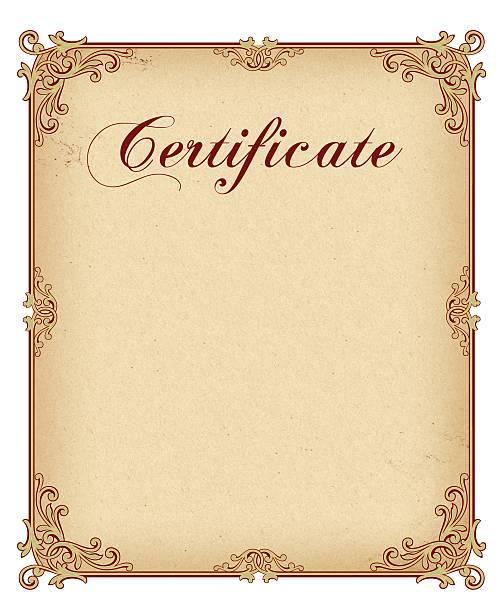 Zertifikat – Foto