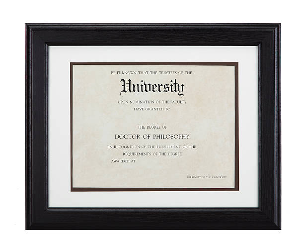 certificate template - diploma stock photos and pictures