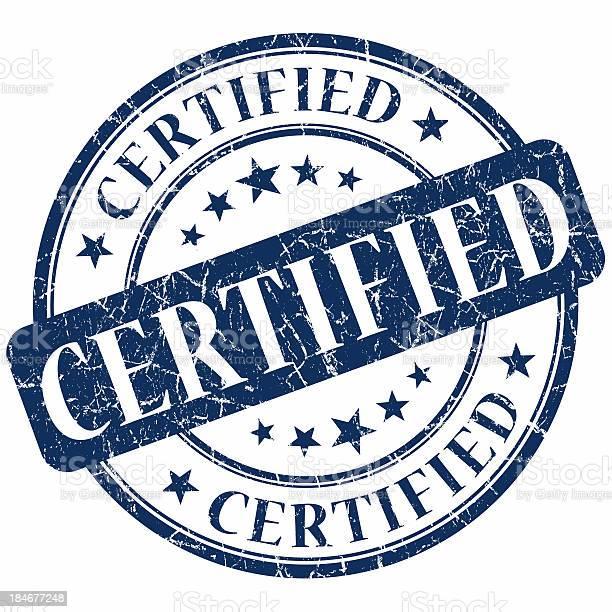 Certified blue round stamp picture id184677248?b=1&k=6&m=184677248&s=612x612&h=y3sfy3z8 ah5bkauc pue vkogszhdatvbbkxbhqvuc=