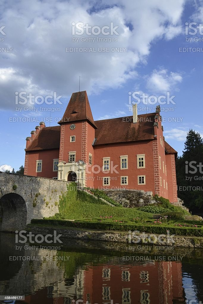 Cervena Lhota Castle in the Czech Republic royalty-free stock photo
