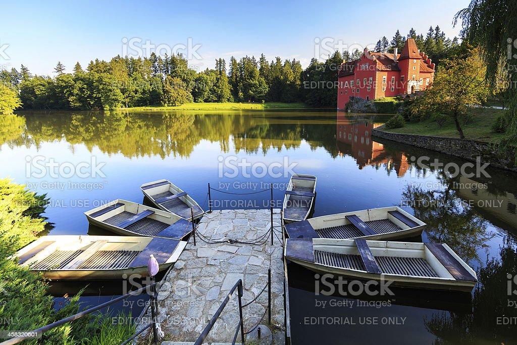 Cervena Lhota stock photo