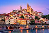 istock Cervo on mediterranean coast of Liguria, Italy 805560092