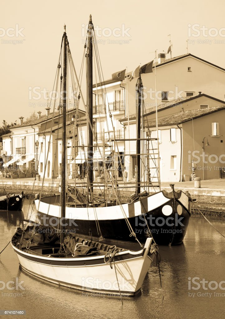 cesenatico - italy royalty-free stock photo