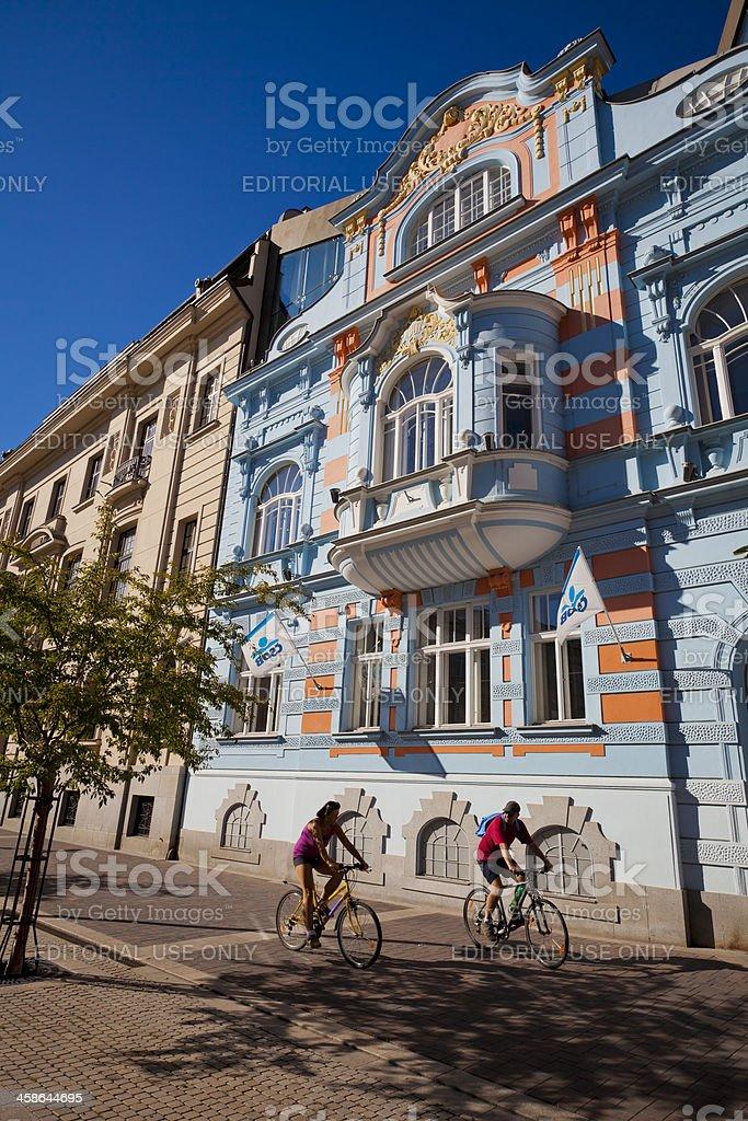 Ceske Budejovice, Czech Republic stock photo