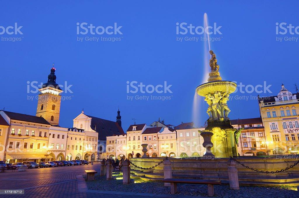 Ceske Budejovice stock photo