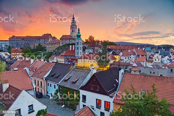 Cesky Kromlov Czech Republic Stock Photo - Download Image Now