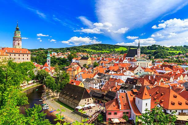Cesky Krumlov Stadt – Foto