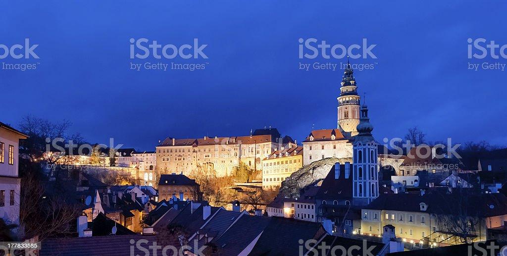 Cesky Krumlov, Czech Republic royalty-free stock photo