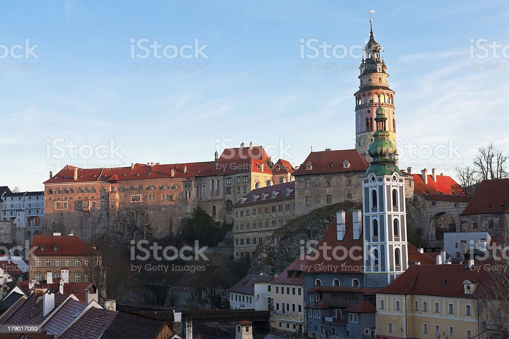 Cesky Krumlov,Czech Republic. stock photo
