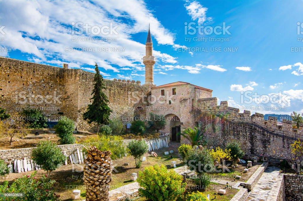 Cesme Town in Turkey stock photo