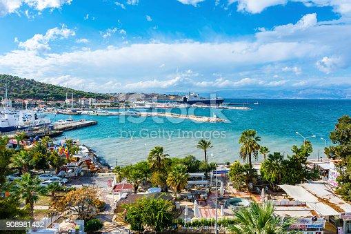 istock Cesme Town of Izmir Province in Turkey 908981432