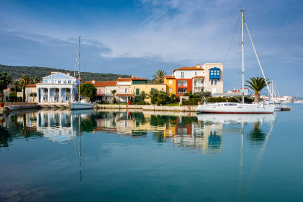 Cesme Town of Izmir Province in Turkey stock photo