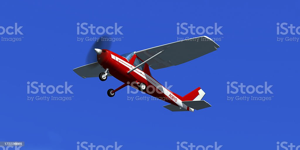 Cessna 152 royalty-free stock photo