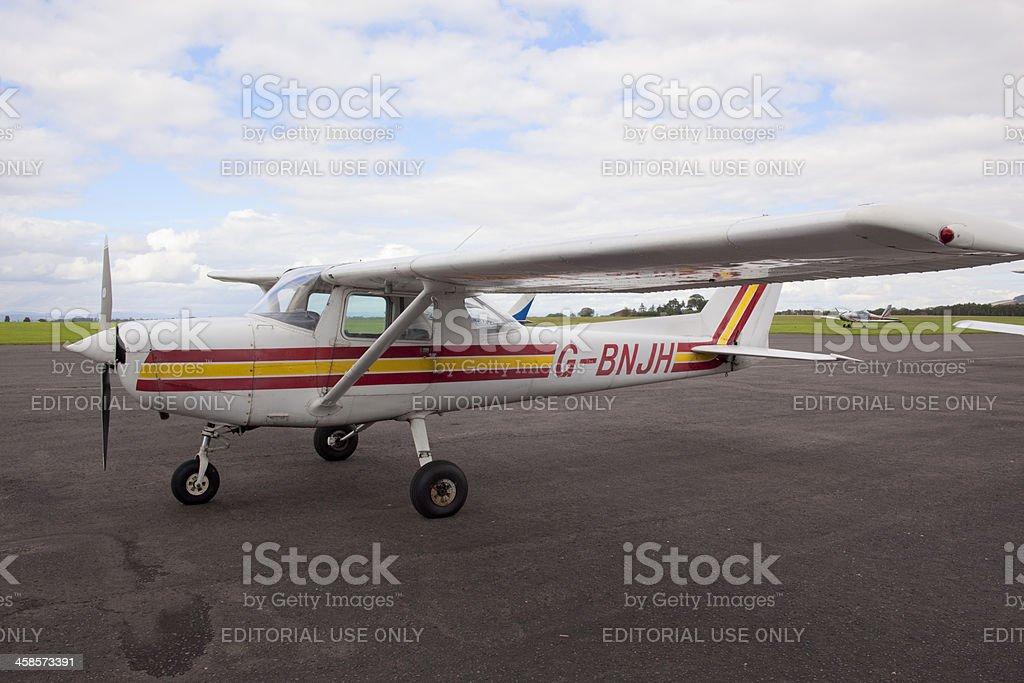 Cessna 152 trainer stock photo
