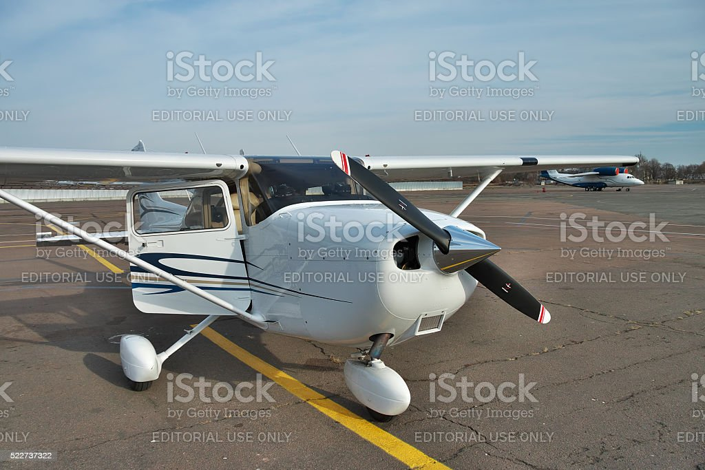 Cessna 172 Skyhawk stock photo