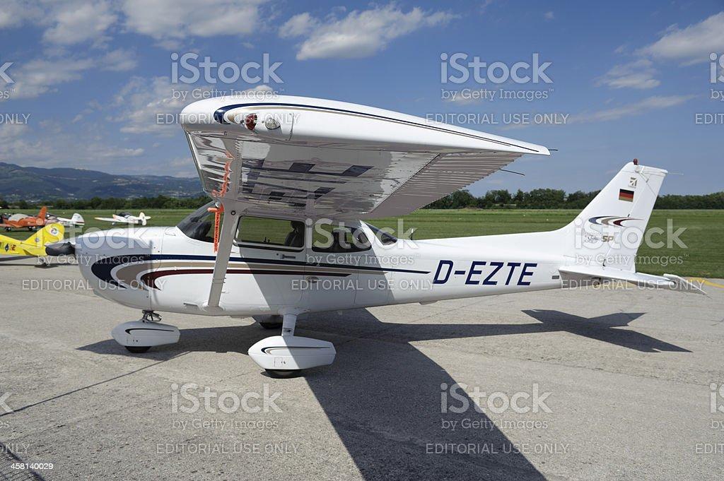 Cessna 172SP stock photo