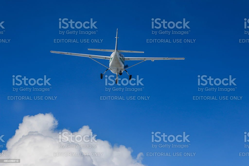Cessna 208 Caravan of KASET stock photo