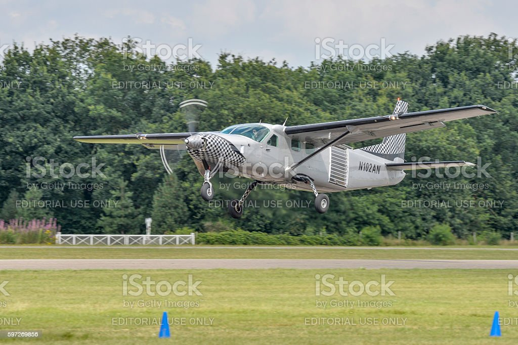 N102AN Cessna 208B Grand Caravan photo libre de droits