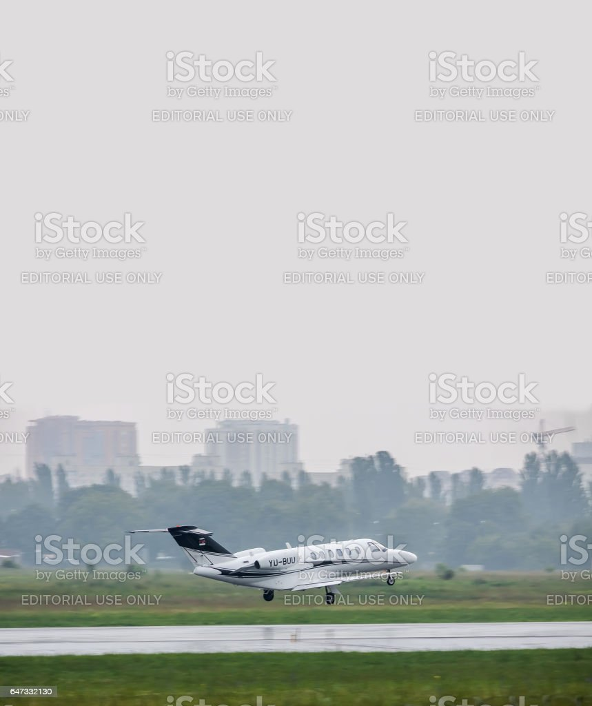 Cessna 525A CitationJet 2 Plus stock photo
