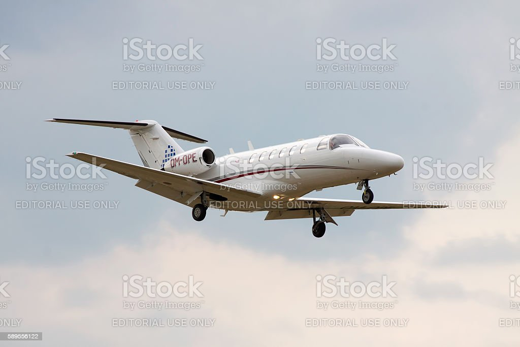 Cessna 525A CitationJet CJ2 stock photo
