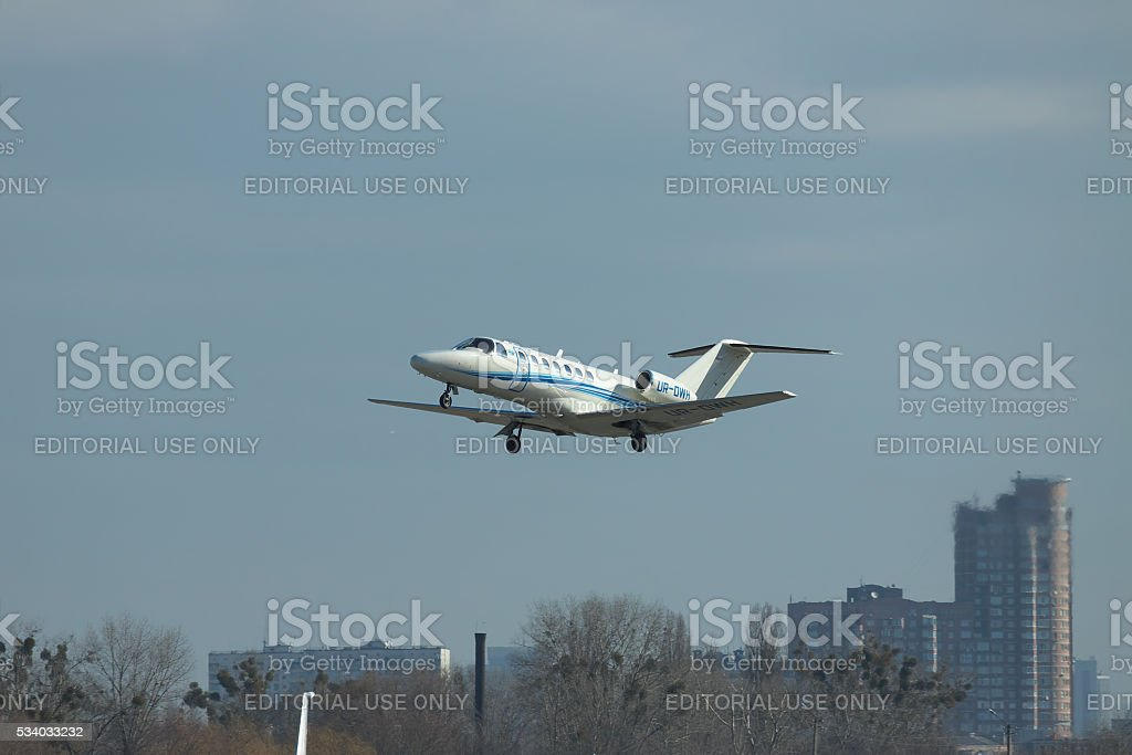 Cessna 525B Citation Jet CJ3 stock photo