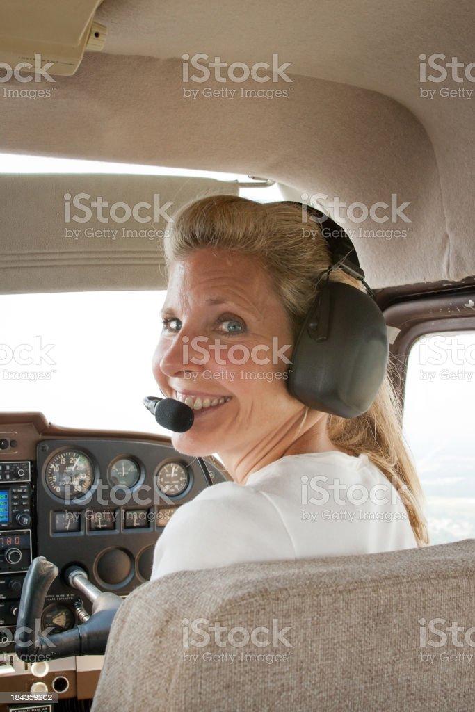Cessna Co-Pilot royalty-free stock photo