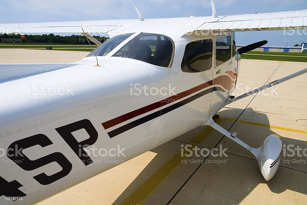 Cessna Fuselage royalty-free stock photo