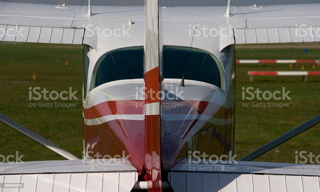 Cessna foto de stock libre de derechos