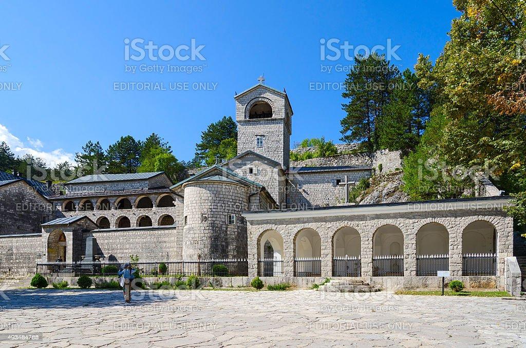 Cetinje 修道院、モンテネグロ ロイヤリティフリーストックフォト