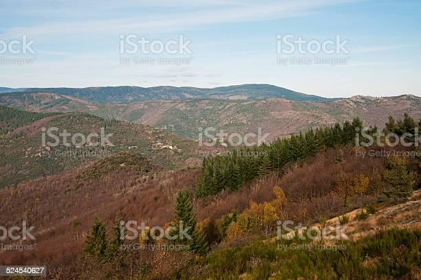 Photo of Cevennes landscape - France