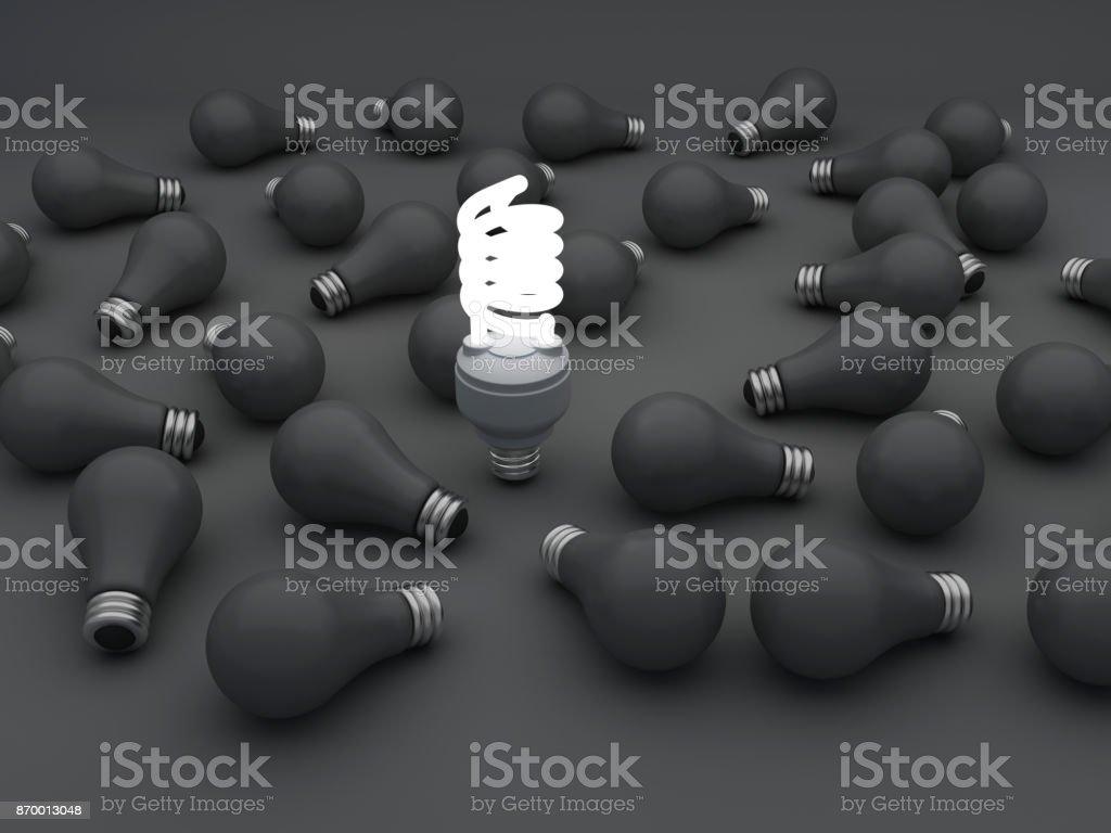 CFl-Beleuchtung – Foto