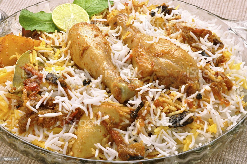 Ch. Biryani-40 stock photo