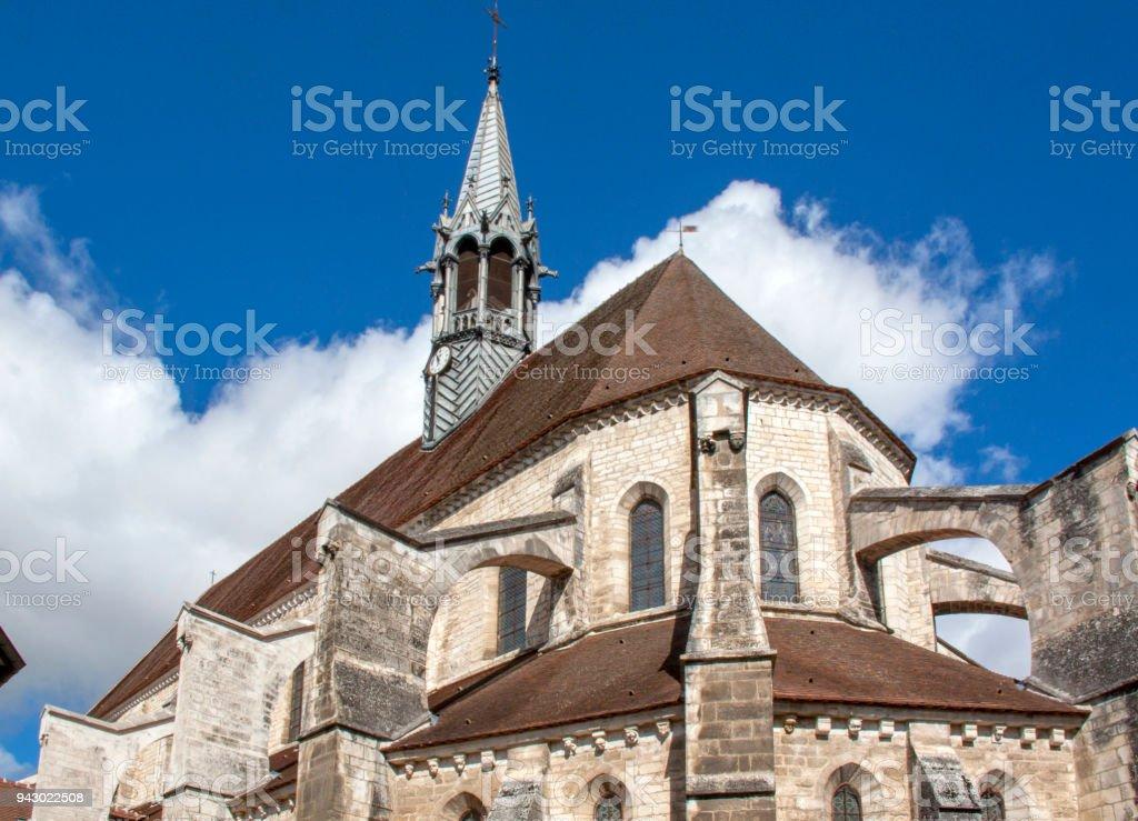 Chablis. Eglise-collégiale Saint-Martin. Yonne, France - Photo